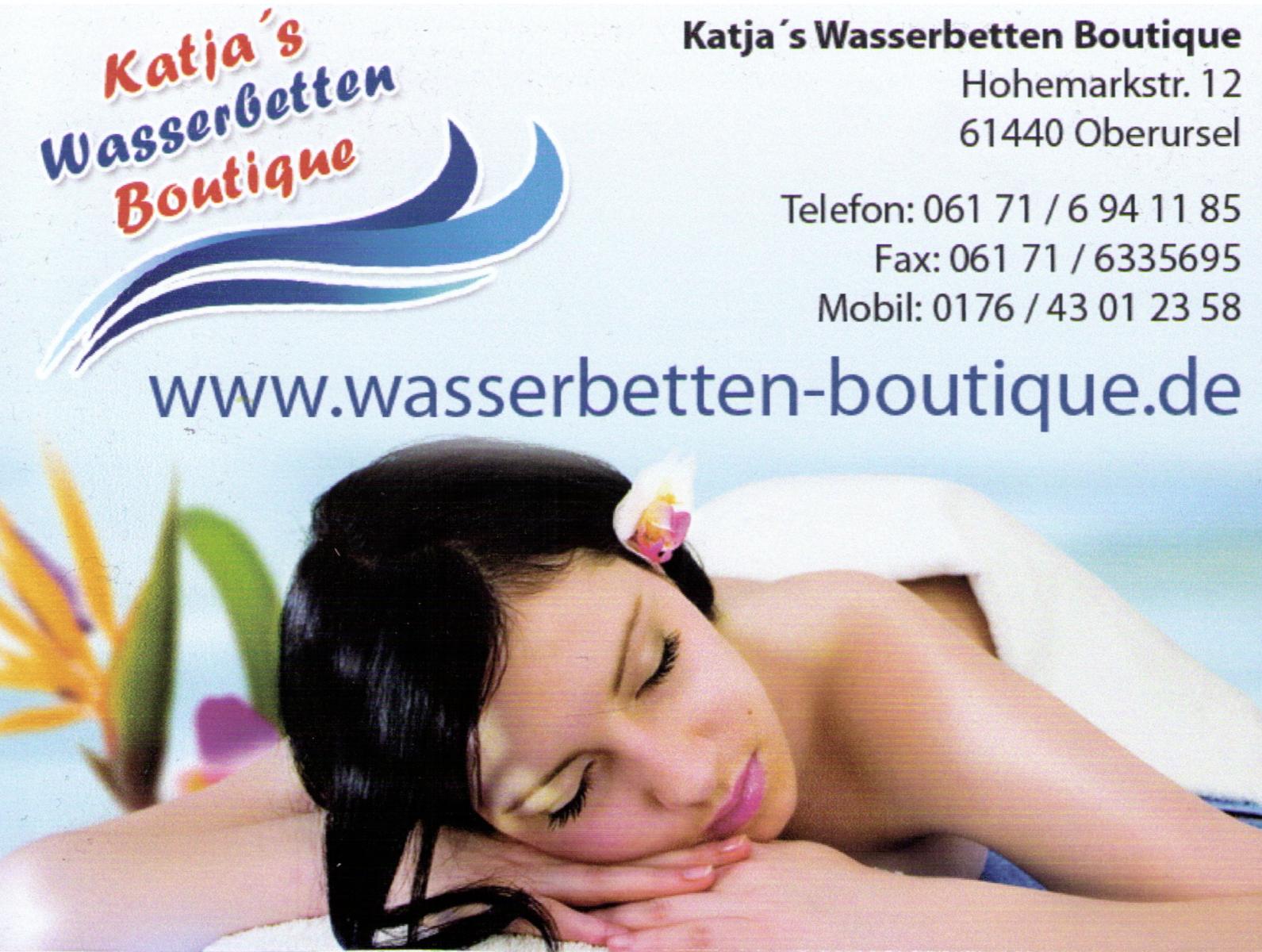 Katjas-Wasserbetten